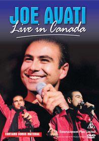 Live In Canada DVD by Joe Avati