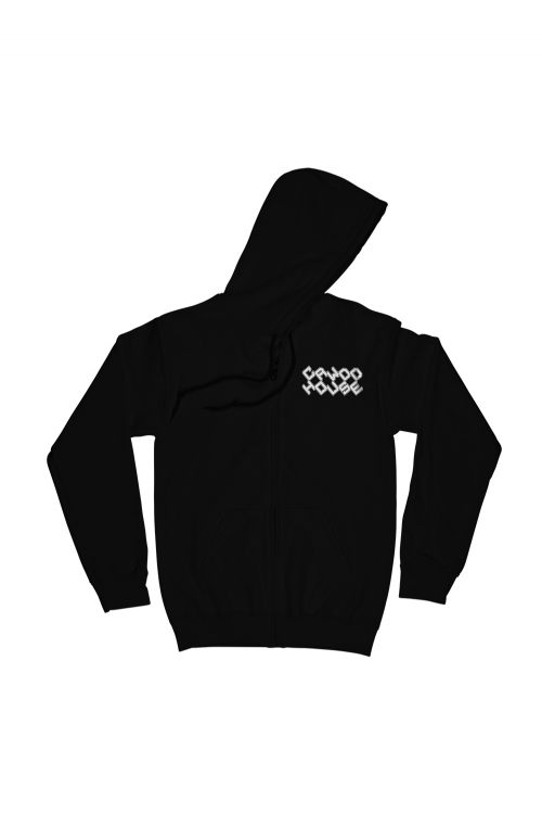Logo Black Hoodie by Crowded House