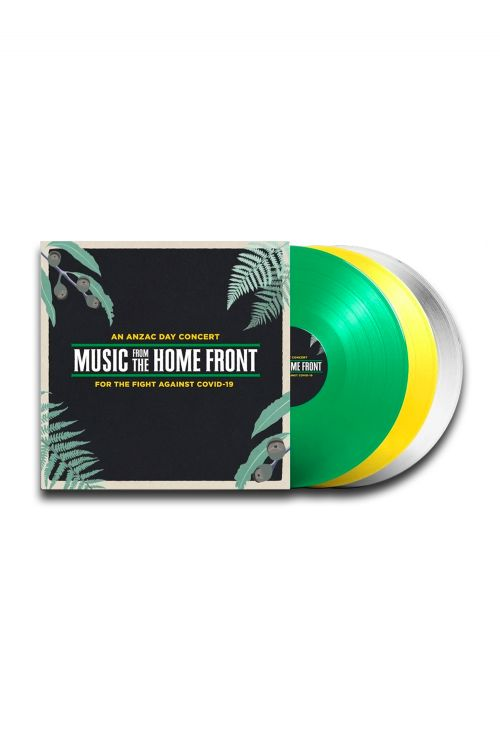 Various Artists - Music From The Home Front 3LP (Colored Vinyl) by Music From The Homefront