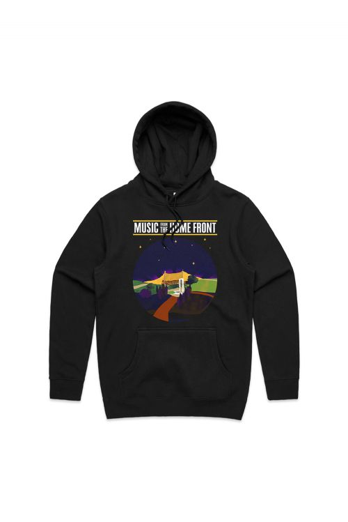 Event 2021 Unisex Black Hoody by Music From The Homefront