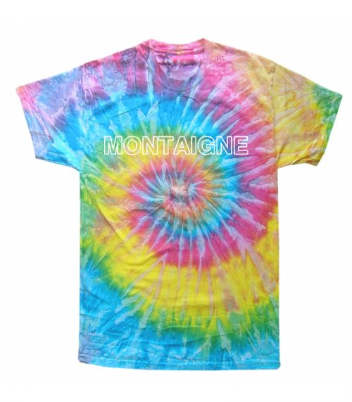 Limited Edition Rainbow Tie Dye – Classic Logo by Montaigne