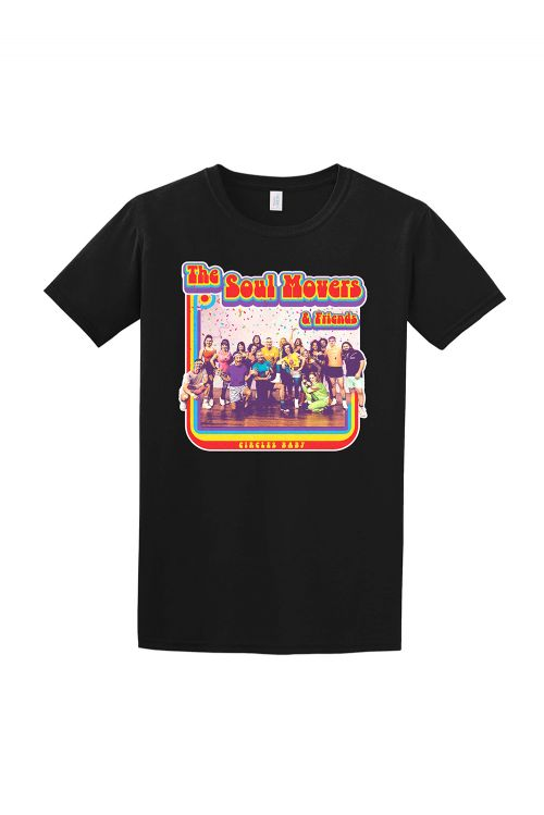 Circle Baby Black Tshirt by The Soul Movers