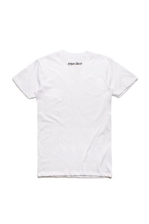 Mama Logo White Tshirt by Adrian Eagle