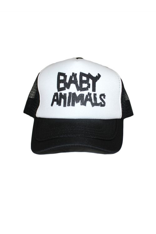 Trucker Cap Baby Animals Tape Logo by Baby Animals