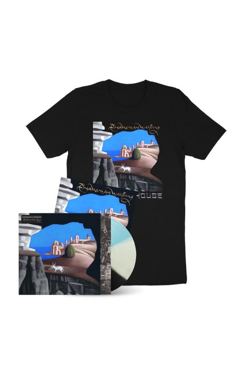 Dreamers Are Waiting (LP) Exclusive Tri Color Vinyl + Tee + Signed  Artcard by Crowded House