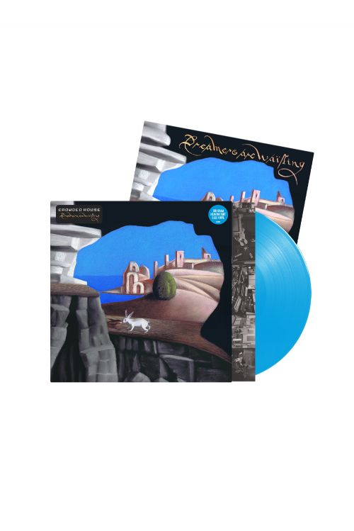 Crowded House - Dreamers Are Waiting Cyan Blue Vinyl + Signed Artcard by Crowded House