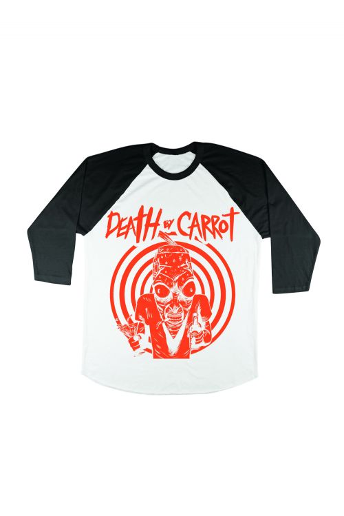 Party Carrot Baseball Tee by Death By Carrot
