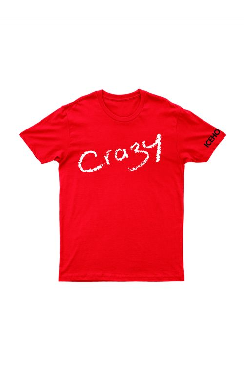 Crazy Red Tshirt by Icehouse