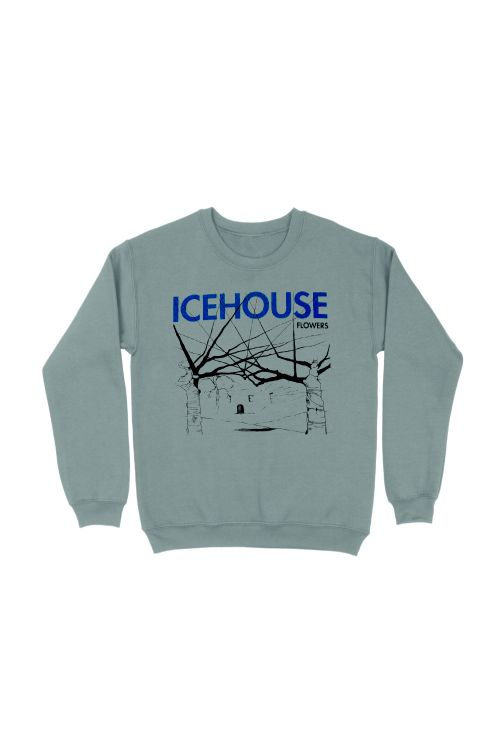 Flowers Sports Grey Sweater by Icehouse