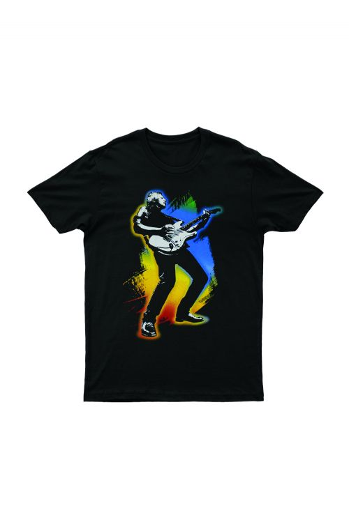 Guitar Full 40 Years Live Black Tshirt by Icehouse