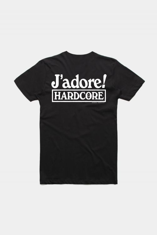 J'ADORE HARDCORE TEE by Soothsayer