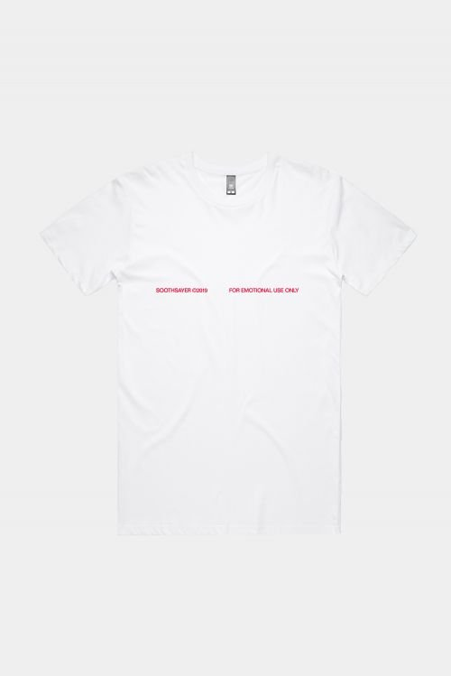 J'ADORE HARDCORE TEE (CHERRY) by Soothsayer