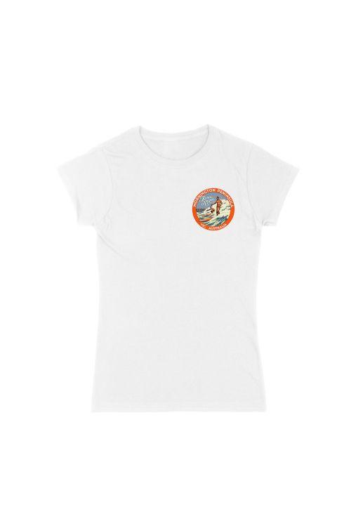 Mornington White Ladies Tshirt by James Reyne