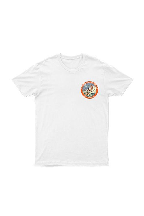 Mornington White Unisex Tshirt by James Reyne