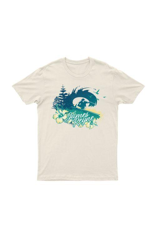 Surfer Natural Tshirt by James Reyne