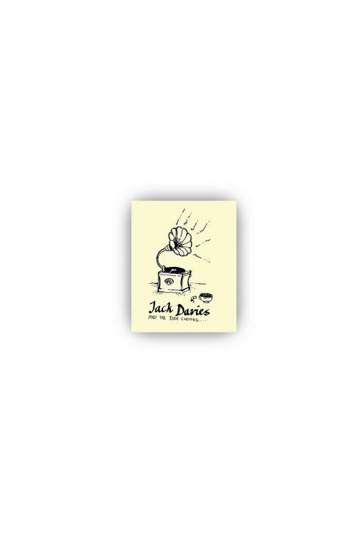 GRAMOPHONE STICKER by Jack Davies & the Bush Chooks