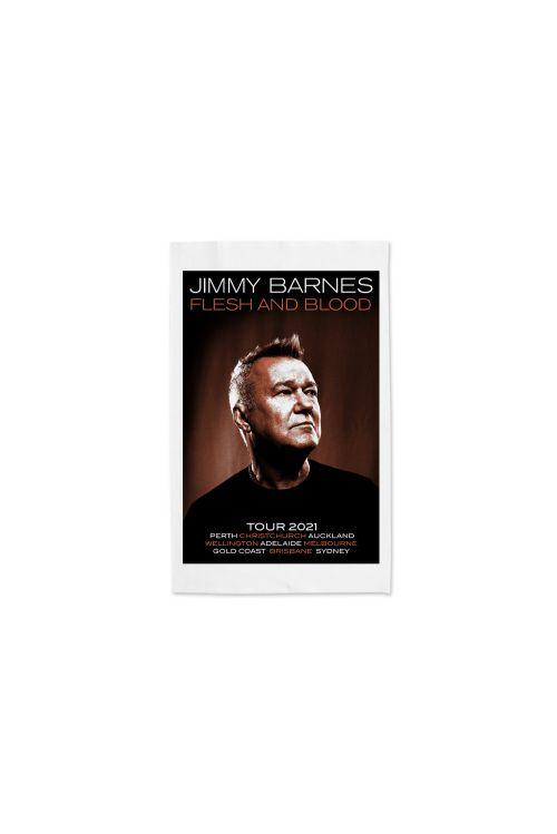 Tea Towel Flesh and Blood by Jimmy Barnes