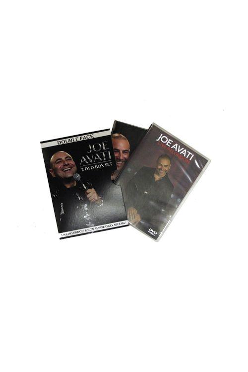 2 DVD BOX SET (LIVE IN LONDON/ 20TH ANNIVERSARY SPECIAL) by Joe Avati