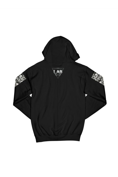Circle Sleeves Black Hood by L.A.B.