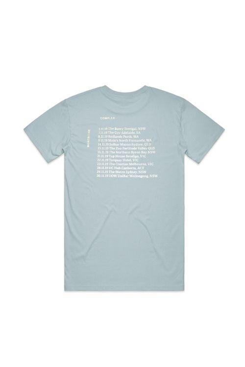 Complex Pale Blue Shirt by Montaigne