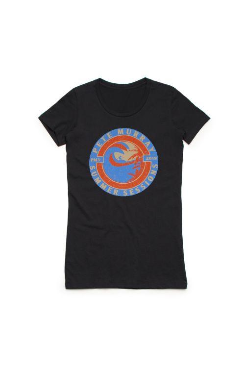 Summer Sessions 2019 Black Tshirt by Pete Murray