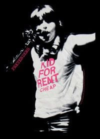 Kid For Rent Black Ladies Tshirt by The Pretenders