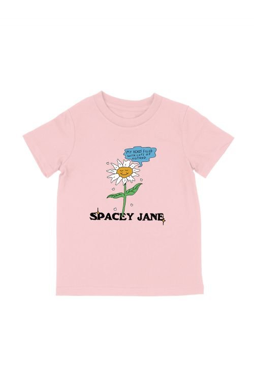 Daisy Pink Kids Tee by Spacey Jane