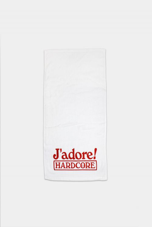 J'ADORE HARDCORE SWEAT TOWEL by Soothsayer