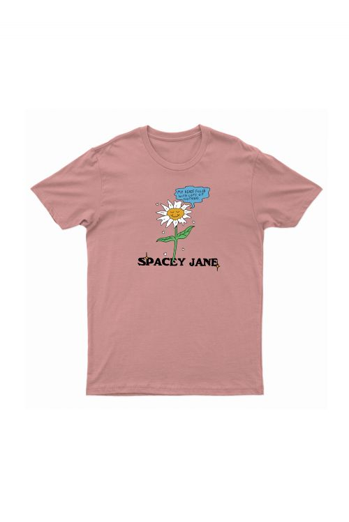Daisy Rose Pink Tee by Spacey Jane