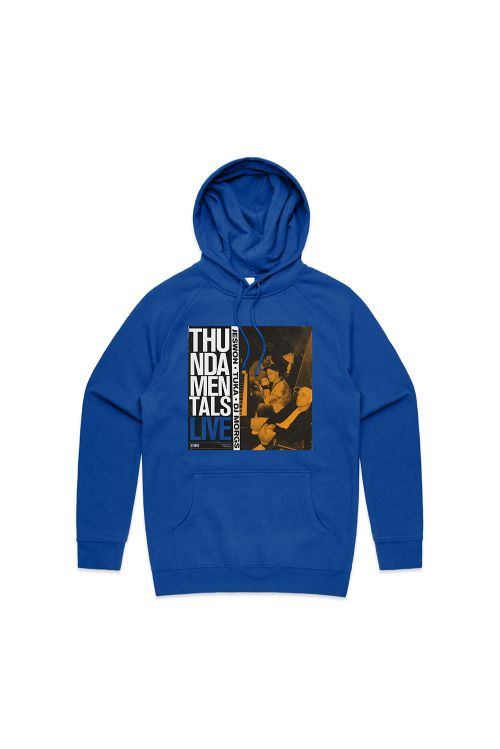 ISO TAPES BLUE HOODY by Thundamentals