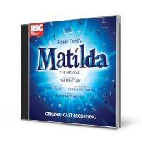 Matilda Original Cast Recording CD by Tim Minchin