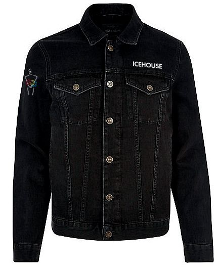 Denim Jacket Black 40 Years Live by Icehouse