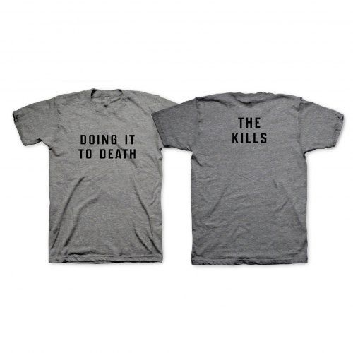 Grey DITD T-Shirt by The Kills