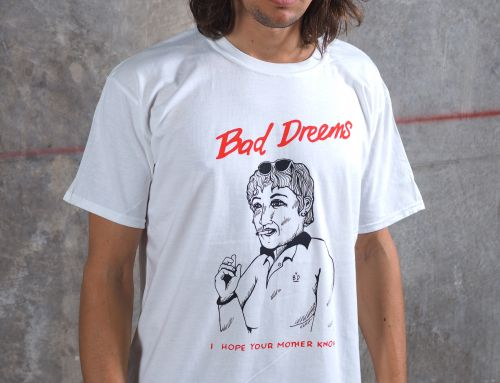 Mother Knows White Tshirt by Bad Dreems