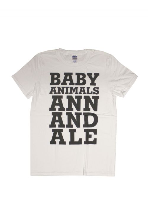 Annandale White Tshirt by Baby Animals