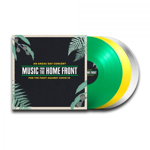 Various Artists - Music From The Home Front 3LP (Colored Vinyl)