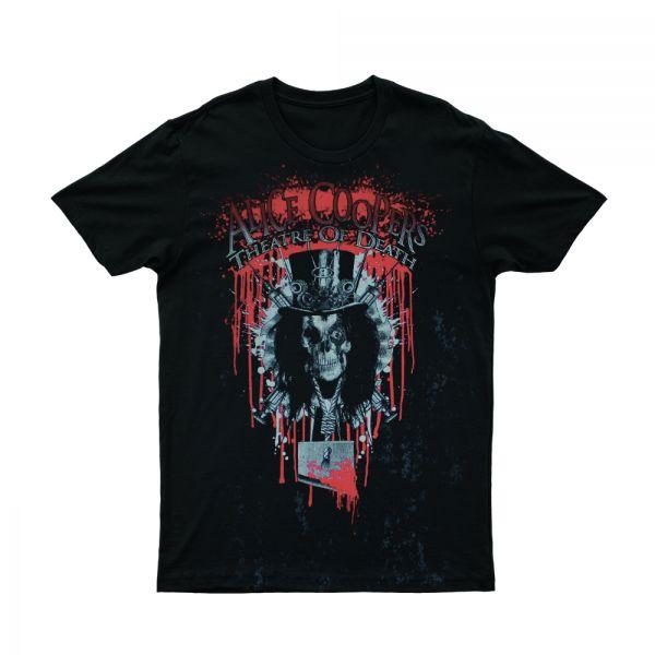 Black Bleeding Logo Tshirt