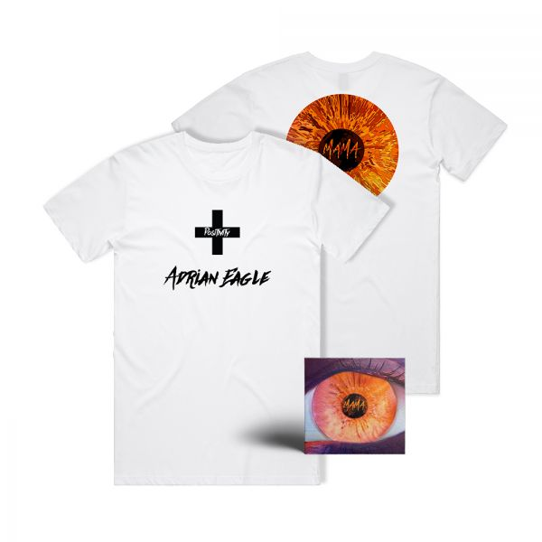 MAMA CD SIGNED AND WHITE TEE BUNDLE