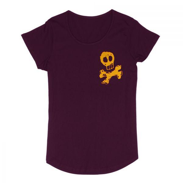 Skull City Cranberry Shirt