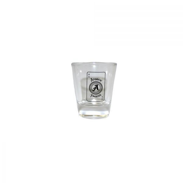 Andrew Farriss Ace Card Shot Glass