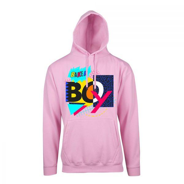 90's Mash Up Pink Hoody
