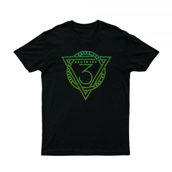 Triangle Black Tshirt
