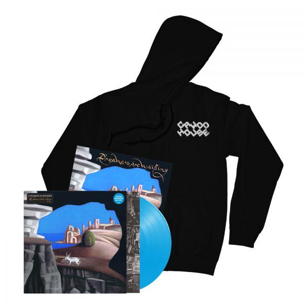 Dreamers Are Waiting (LP) Cyan Blue Vinyl + Logo Black Hoodie + Signed  Artcard