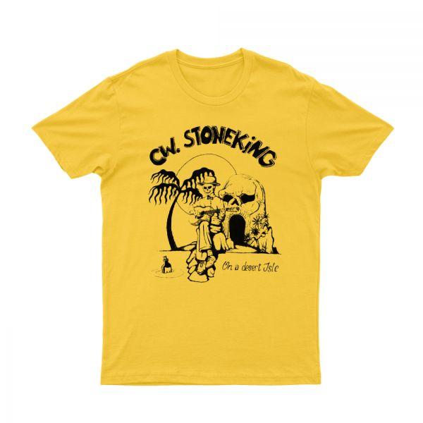 On a Desert Isle Yellow Tshirt