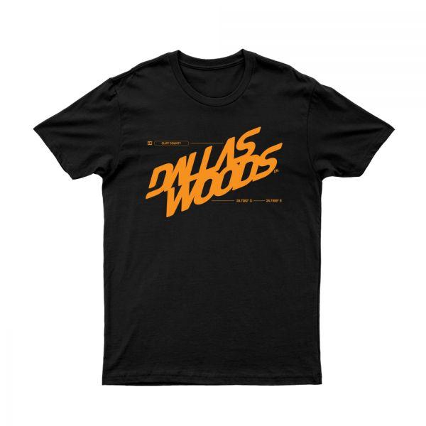 93 Logo Black Tshirt