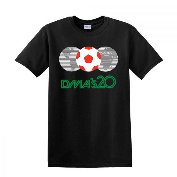 Mexico 86 Black Tshirt
