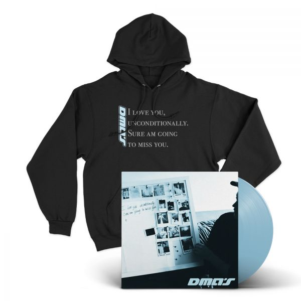 THE EP BUNDLE #2  I Love You Unconditionally EP (Blue Vinyl)/Hoodie