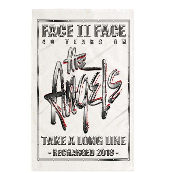 Face To Face/Take A Long Line Recharged Tour Tea Towel