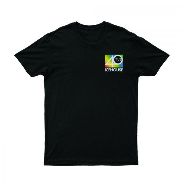 40 Years Live Black Tshirt