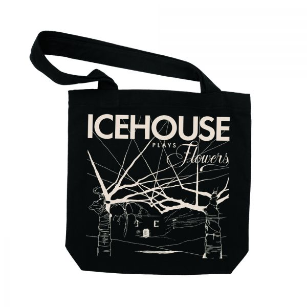 Icehouse Plays Flowers Tote Bag